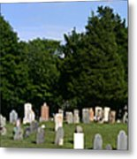 Old Burial Ground Metal Print
