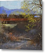 Old California Bridge Metal Print