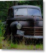 Old Car 1941 Metal Print