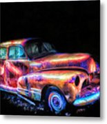 Old Car 2 Metal Print