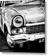 Old Car Metal Print