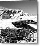 Old Cart Metal Print