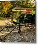 Old Cart - Old Movie Edition Metal Print