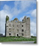 Old Castle In Ireland Metal Print