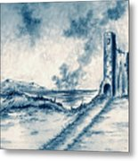 Old Castle Ruins Metal Print
