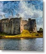 Old Castle Metal Print