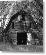 Old Cedar Barn Metal Print