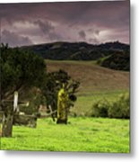 Old Cementery Metal Print