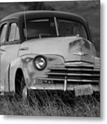 Old Chevy By The Levee Metal Print