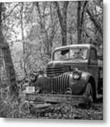 Old Chevy Oil Truck 2 Metal Print