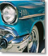 Old Chevy Metal Print by Steve Karol