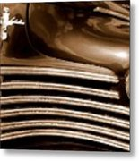 Old Chrysler Grille Metal Print