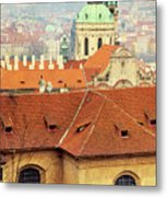 Old Church In Prague Metal Print