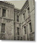 Old City Jail Chs Metal Print