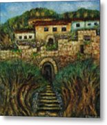 Old City's Gate Metal Print