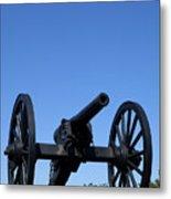 Old Civil War Cannon Metal Print