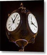 Old Clock Metal Print