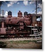 Old Clovis Train Metal Print