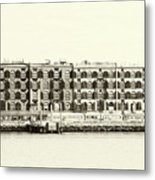 Old Coffee And Cotton Warehouse Metal Print