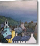 Old Copper Mining Town Metal Print