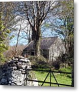 Old Cottage  Metal Print