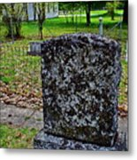 Old Country Cemetery Metal Print