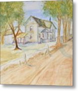 Old Country House Metal Print