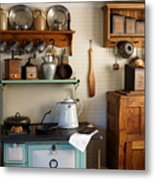 Old Country Kitchen Metal Print