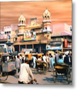 Old Dehli Metal Print