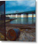 Old Dock Metal Print