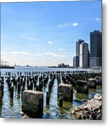 Old Docks Metal Print