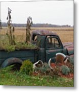 Old Dodge  New Job Metal Print