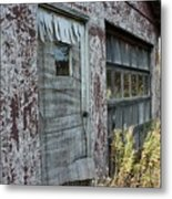 Old Door County Cherry Store Metal Print