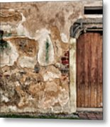 Old Door. Metal Print