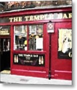 Old Dublin Pubs Metal Print