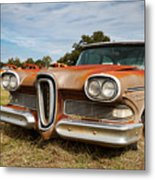 Old Edsel Metal Print