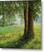 Old Elms In Kernave Metal Print