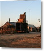Old Farm Hand Metal Print