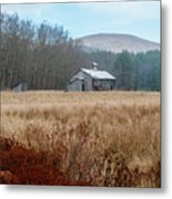 Old Farm Saturated Metal Print