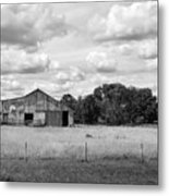 Old Farm Scene Metal Print
