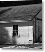 Old Farm Shed Metal Print
