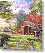Old Farmhouse Metal Print