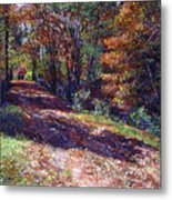 Old Farmhouse Road Metal Print