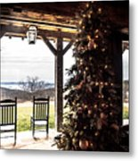 Old Fashion Christmas  Metal Print