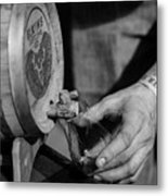Old Fashion From A Cask Metal Print