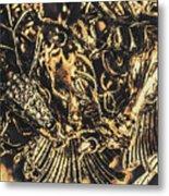 Old-fashioned Deer Jewellery Metal Print