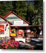 Old Fashioned General Store Metal Print