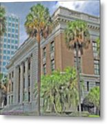 Old Federal Building Metal Print