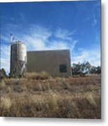 Old Feed Store Metal Print
