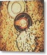 Old Film Festival Metal Print